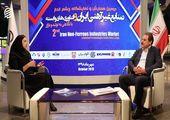 مصاحبه با آقای مجید رحیمی ، مدیرعامل شرکت دانش بنیان پرتو نقش جهان در حاشیه همایش صنایع غیرآهنی