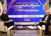 مصاحبه با هوشنگ گودرزی رئیس سندیکای صنایع آلومینیوم ایران در حاشیه همایش صنایع غیرآهنی