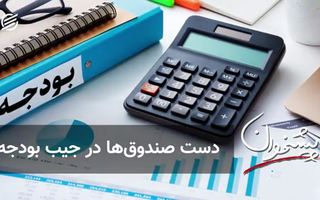 دست صندوقها در جیب بودجه