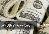 رکورد جدید در بازار دلار