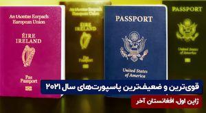 قویترین و ضعیفترین پاسپورتهای سال ۲۰۲۱