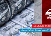 جایگاه دلار تضعیف شد