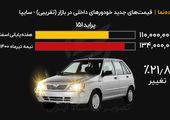 جدیدترین قیمت خودرو در بازار - سایپا