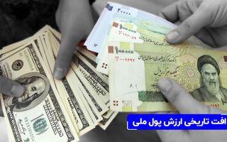 رکورد جدیدی در تورم دههای ایران و افت ارزش پول ملی