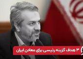 هدف گزینه رئیسی برای معادن ایران