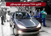 لاتاری ۷۰۰۰ میلیارد تومانی خودروسازان