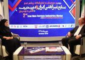 مصاحبه با بهرام شکوری رئیس کمیسیون معادن و صنایع معدنی اتاق بازرگانی در حاشیه همایش صنایع غیرآهنی